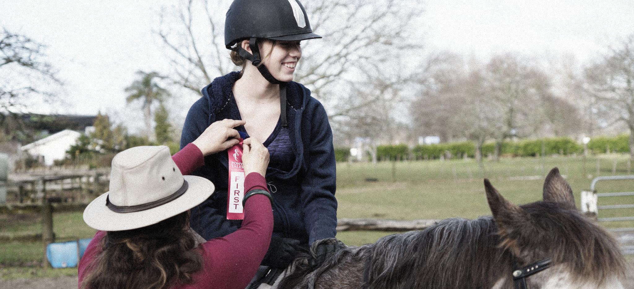 pony club prize giving